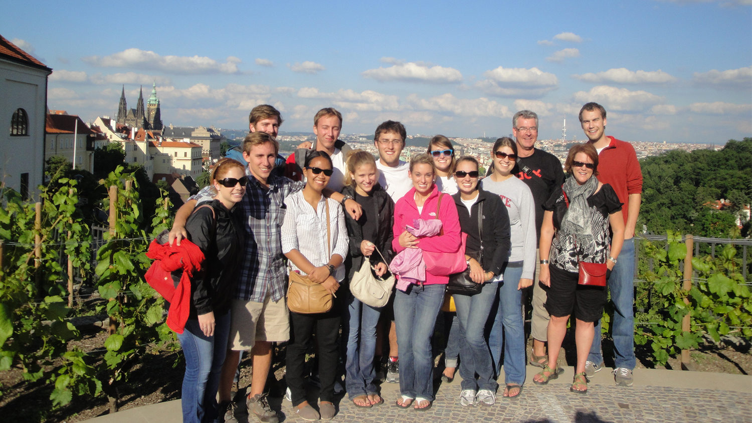 MAC Students in Prague