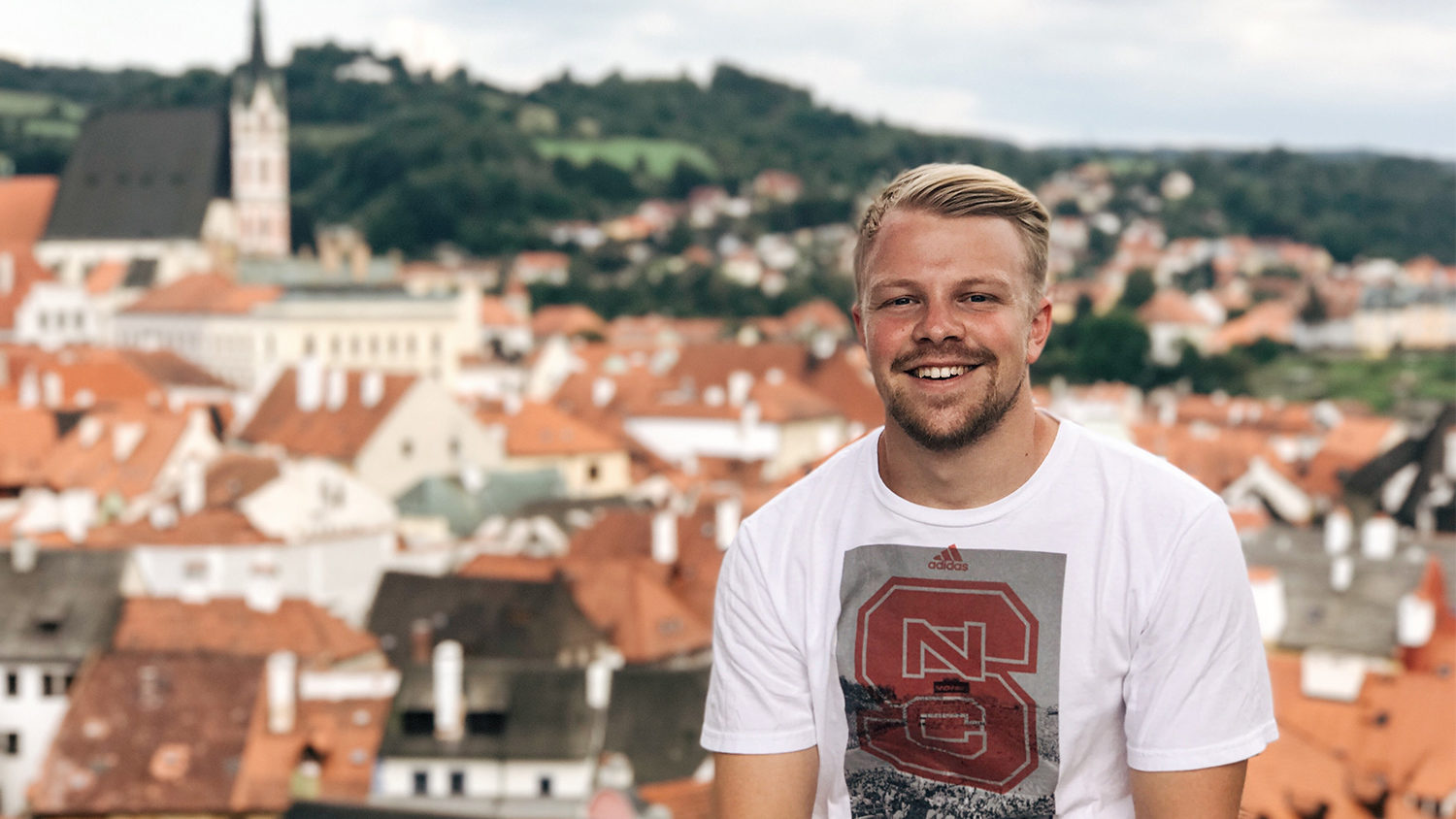 NC State Student in Prague