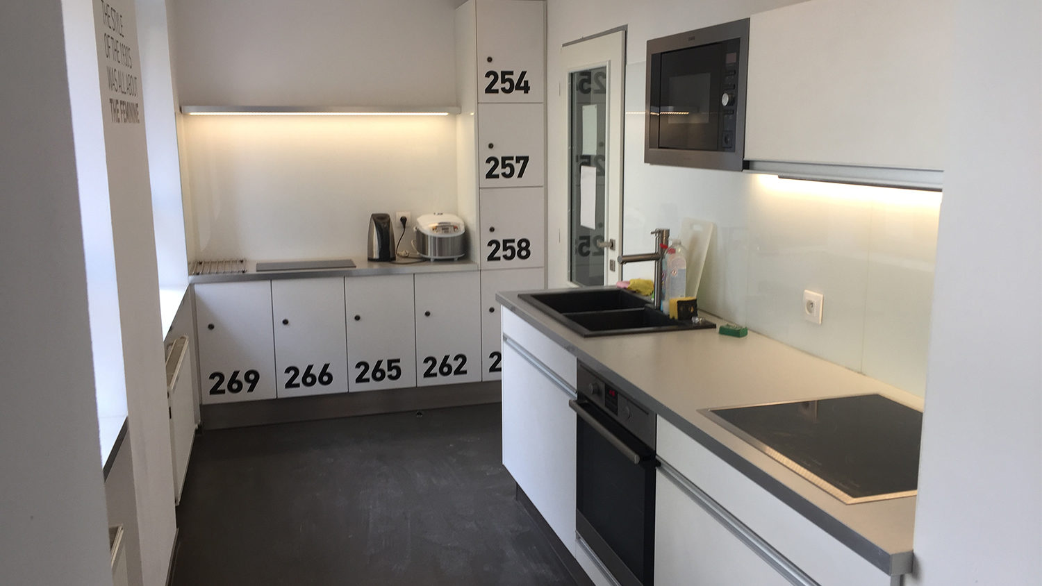 Kitchen at Student Apartment
