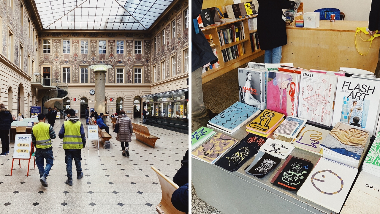 Prague Post Office and Bookstore